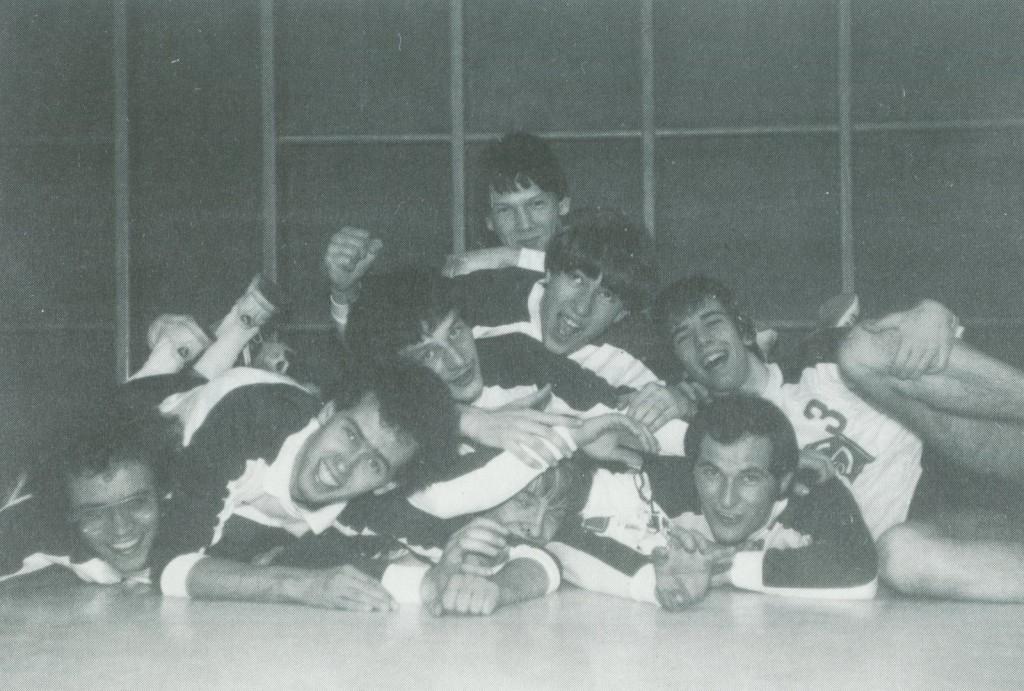Die 1. Volleyball-Herrenmannschaft des TuS Aschen-Strang, Saison 1980/81