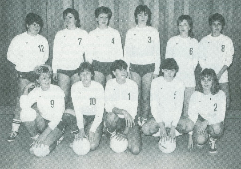 1. Damen Volleyball 1982/83