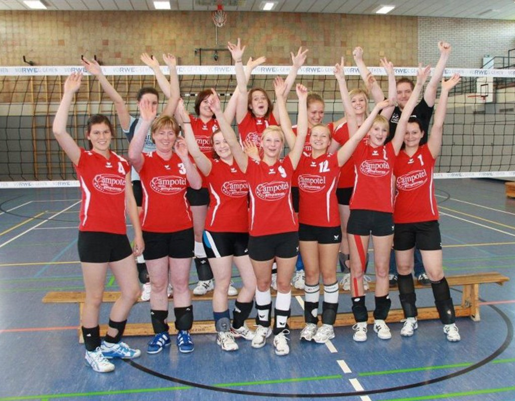 1. Damen Volleyball 2011/12
