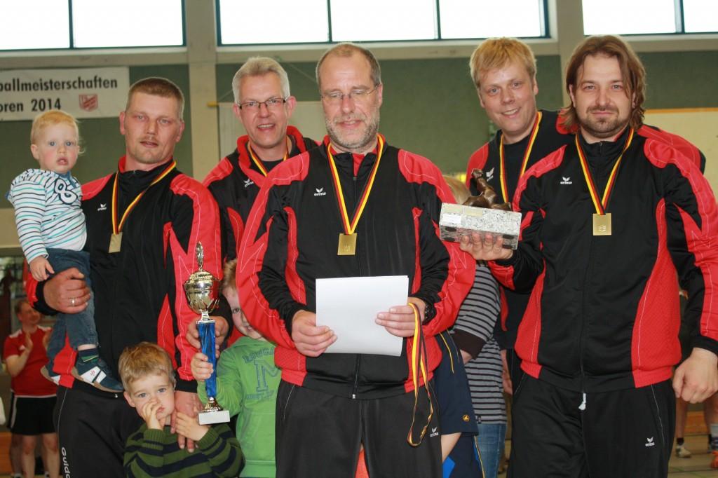 Männer 30 - Deutscher Meister 2014