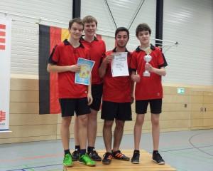 Nordwestdeutscher Meister A-Jugend Prellball 2015 TuS Aschen-Strang